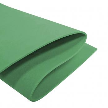 VR-FE2 40T20-S60X70-RNNB4369 Verde Vivo-Живая зелень Фоамиран. толщина 2мм. лист 60x70см. в пачке из 10 листов. TM Volpe Rosa