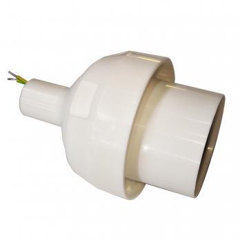 UFP-N60AE WHITE Основание с переходником на трубу D20мм. под плафон. для изготовления ростовых цветов. Белый. ТМ Uniel