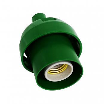 UFP-N60AE GREEN Основание с переходником на трубу D20мм. под плафон. для изготовления ростовых цветов. Зеленый. ТМ Uniel