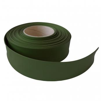 UIS-R100 35-17-025 DARK GREEN ROLL Термоусадочная трубка. рулон 25 м. Диаметр до усадки 35 мм. после 17 мм. Темно-зеленый. ТМ Uniel.