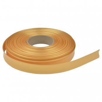 UIS-R100 22.8-11-050 PEARL GOLD ROLL Термоусадочная трубка. рулон 50м. Диаметр до усадки 22.8мм. после 11мм. Жемчужное золото. ТМ Uniel.