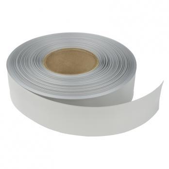 UIS-P100 32-16-100 SILVER ROLL Термоусадочная трубка PVC. рулон 100м. Диаметр до усадки 32мм. после 16мм. Серебро. ТМ Uniel.