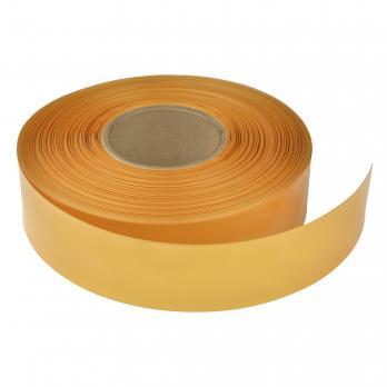 UIS-P100 32-16-100 HONEY GOLD ROLL Термоусадочная трубка PVC. рулон 100м. Диаметр до усадки 32мм. после 16мм. Медовое золото. ТМ Uniel.