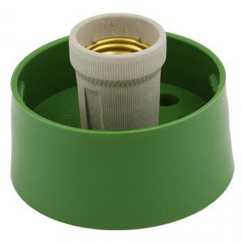 UFP-А01AE GREEN Основание под плафон. с цоколем Е27. для декоративных светильников. Зеленый. TM Uniel