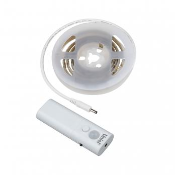 ULS-R22-1.5W-4000K-1.0M-2AA SENSOR Smart Light Комплект светодиодной ленты на самоклеящейся основе. 1м. IP65. Белый свет4000К. Батарейки 2АА. не в-к. ТМ Uniel.