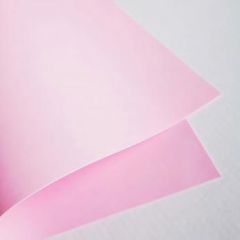 VR-FE3 42T10-S50X50-XHTB1503 Rosa Chiaro-Светлая роза Фоамиран. толщина 1мм. лист 50х50см.  в пачке из 10 листов. TM Volpe Rosa