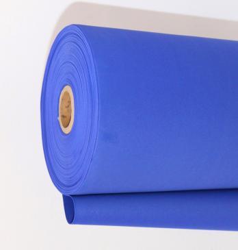 VR-FE4 40T20-R100-HPL47A025 L050M Velluto blu-Cиний бархат Фоамиран. толщина 2мм. ширина 100см. в рулоне 50м. TM Volpe Rosa