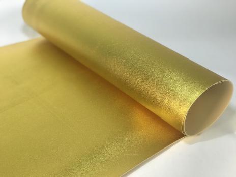 VR-FE4 40T20-S60X70-HPLM6204 Oro-Золото Фоамиран металлик. толщина 2мм. лист 60x70см. в пачке из 10 листов. TM Volpe Rosa