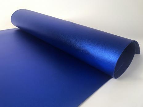 VR-FE4 40T20-S60X70-HPLM6205 Indaco-Индиго Фоамиран металлик. толщина 2мм. лист 60x70см. в пачке из 10 листов. TM Volpe Rosa