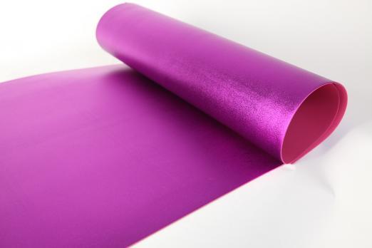VR-FE4 40T20-S60X70-HPLM6209 Viola-Фиолетовый Фоамиран металлик. толщина 2мм. лист 60x70см. в пачке из 10 листов. TM Volpe Rosa