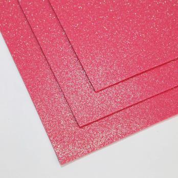 VR-FE4 40T13-S60X70-HPL3EIG016 Shimmer Soufflé cremisi-Малиновое суфле Фоамиран мерцающий. толщина 1.5мм. лист 60x70см. в пачке из 10 листов. TM Volpe Rosa