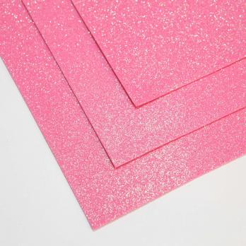 VR-FE4 40T13-S60X70-HPL5EIG011 Shimmer Marshmallow rosa-Розовый зефир Фоамиран мерцающий. толщина 1.5мм. лист 60x70см. в пачке из 10 листов. TM Volpe Rosa