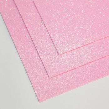 VR-FE4 40T13-S60X70-HPL7EIG018 Shimmer Rosa freddo-Холодный розовый Фоамиран мерцающий. толщина 1.5мм. лист 60x70см. в пачке из 10 листов. TM Volpe Rosa