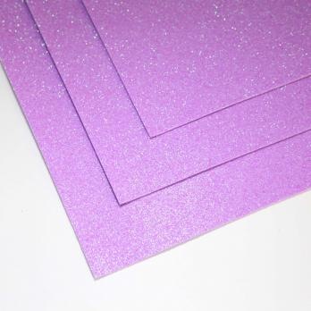 VR-FE4 40T13-S60X70-HPL16EIG010 Shimmer Rosa lilla-Розово-сиреневый Фоамиран мерцающий. толщина 1.5мм. лист 60x70см. в пачке из 10 листов. TM Volpe Rosa