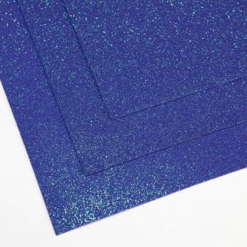 VR-FE4 40T13-S60X70-HPL29EIG029 Shimmer Cielo notturno-Ночное небо Фоамиран мерцающий. толщина 1.5мм. лист 60x70см. в пачке из 10 листов. TM Volpe Rosa