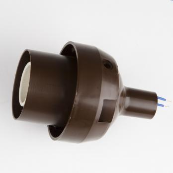 UFP-N60AE CHOCOLATE Основание с переходником на трубу D20мм. под плафон. для изготовления ростовых цветов. Шоколадный. ТМ Uniel