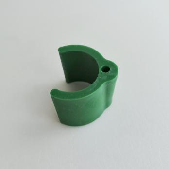 UFP-T20N GREEN Крепление-держатель для листьев на трубу D20мм. Зеленый. ТМ Uniel
